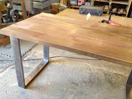Reclaimed Wood And Iron Dining Table Modern Furniture Modern Reclaimed Wood Furniture Expansive Terra
