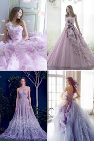 Whimsical Wedding Dress Unexpected Hues 30 Whimsical Colored Wedding Dresses For