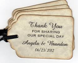 Thank You Tags Wedding Favors Templates by Wedding Favor Tags Template The Beautiful Wedding Favor Tags As