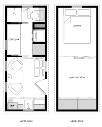 tiny houses with open floor plans