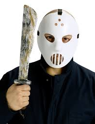 hockey mask u0026 machete set halloween