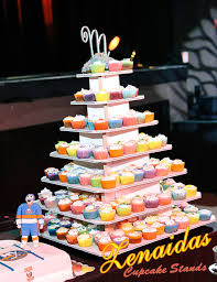 square cupcakes cupcake stand 7 tier square 200 cupcakes with threaded rod