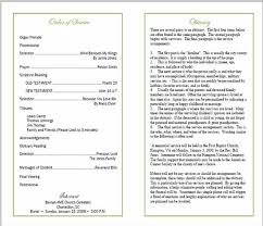 template for funeral program sle of a funeral program sle funeral program memorial
