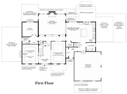 Farmhouse Floor Plan by New Britain Woods The Harding Home Design