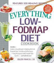 the everything low fodmap diet cookbook book by colleen
