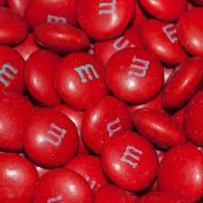 red bulk candy candy bar or candy buffet