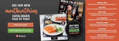 Mail Order Christmas Gifts Gourmet Food Online Christmas Hampers Smoked Salmon