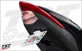 gsx s1000 tail light fender eliminator suzuki gsx s1000f tst industries
