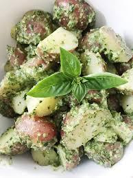 pesto potato salad nutrition stripped