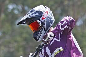 motocross helmet review review 2018 fox v3 helmet motoonline com au