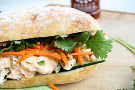 thanksgiving turkey sandwich recipe leftover turkey asian sandwich turkey banh mi the food charlatan