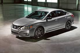 nissan altima 2016 black rims nissan brings special midnight edition package to six models