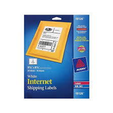 avery 20ct white shipping labels target