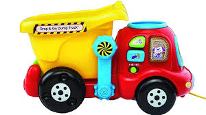 vtech drop and go dump truck for toddlers ages 6 24 months youtube