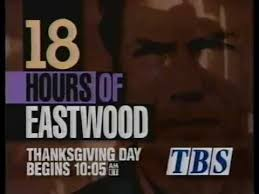 tbs 18 hours of eastwood commercial 1992