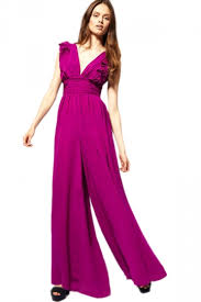 evening jumpsuits purple floral embroidered tank evening jumpsuit