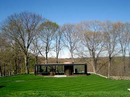 ad classics the glass house philip johnson archdaily
