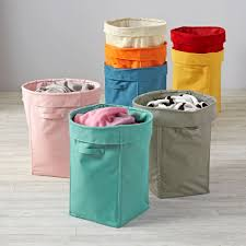 Laundry Hamper Kids by Colorful Foldable Canvas Kids Hamper The Land Of Nod