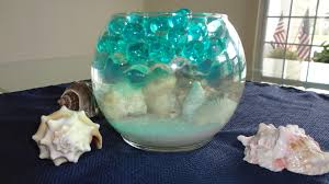water centerpieces seashell water centerpiece a great addition to your room