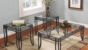 coffee table metal and glass coffee tables stylish glass and