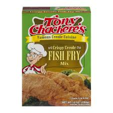creole cuisine tony chachere s creole cuisine crispy creole fish fry mix