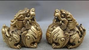 pixiu statue aliexpress buy 6710544 8 feng shui brass wealth