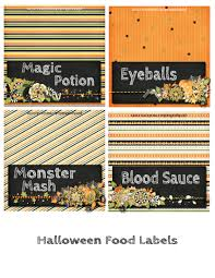free printable halloween labels halloween party 2013 and free printables pink polka dot creations