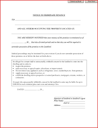 free eviction notice printable it charity proposal template daily