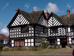 Tutor Style House Tudor Style Homes At Port Sunlight Village On The Wirral In