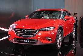 Mazda Cx 4 Suv Coupé Premiere In Peking