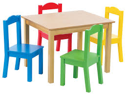 tables and chairs advantages of using wooden table and chair for kids home decor