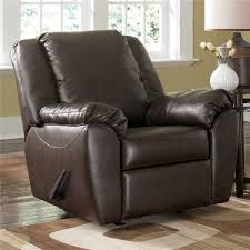 Millennium Home Design Inc by Home Axiom Leather Chair And A Half Walnut Ashley Millennium