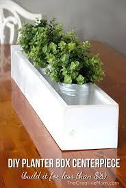Homemade Planter Boxes by Diy Planter Box Centerpiece Build It For 8 Thecreativemom Com