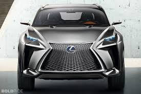 lexus concept cars the lexus lf nx concept a city dwelling suv of the future