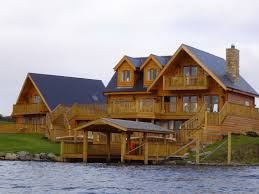 canadian log house pine north america 487614 gallery of homes