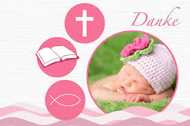 design baptism cards with photos of your baby
