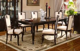 contemporary formal dining chairs room ideas decoration with brown