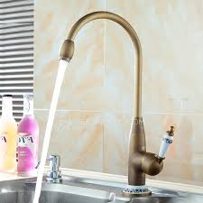 designer faucets kitchen designer high arc antique brass ceramic kitchen faucets