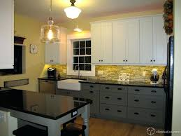 two color kitchen cabinet ideas two tone kitchen cabinet ideas femvote