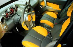 pontiac aztek yellow autos of interest 1999 pontiac aztek concept interior driver
