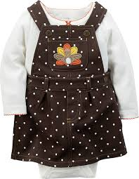Thanksgiving Dress Baby Carters Baby Thanksgiving 2 Jumper Set 6