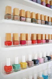 easy custom nail polish shelves u2013 a beautiful mess
