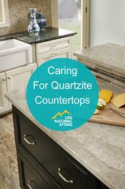 can you use to clean countertops caring for quartzite countertops use