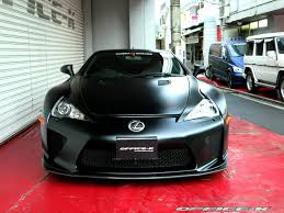 lexus black satin black lexus lfa by office k gtspirit