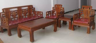 Sofa Wholesale Solid Wood Furniture Antique Furniture Elm Furniture Large Five