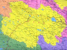 Dalian China Map Qinghai Map Map Of Qinghai China China Travel Map