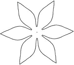 10 best images of paper flower cutouts daisy flower cut out