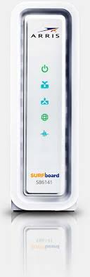 arris surfboard sb6141 lights surfboard docsis 3 0 cable modem sb6141 arris surfboard