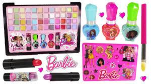 barbie beauty laptop decorate makeup eyeshadow lip gloss nail