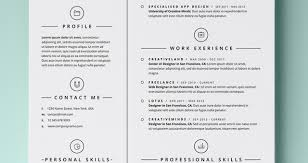 Web Design Resume Template Simple Resume Template Vol4 Resumes Templates Pixeden